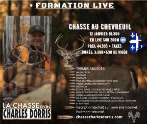 Formation Chasse au Chevreuil de Charles Dorris