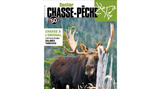Votre magazine Sentier CHASSE-PÊCHE du mois d'août ENFIN disponible!