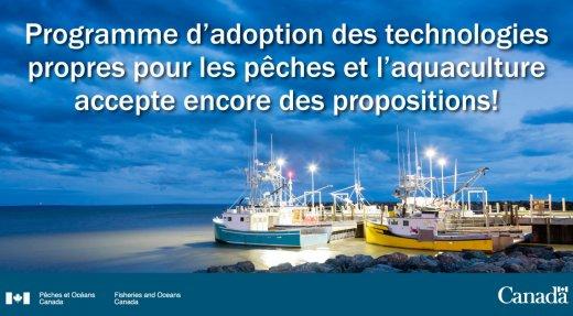 Programme d'adoption des technologies propres pour les pêches et l'aquaculture (PATPPA)