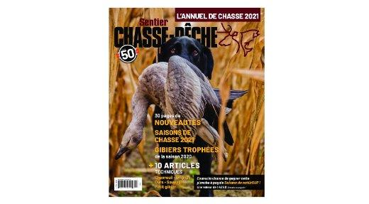 L'annuel de chasse 2021 maintenant disponible!
