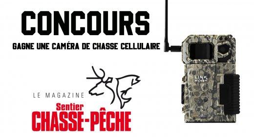 DERNIÈRE CHANCE - CONCOURS Sentier CHASSE-PÊCHE