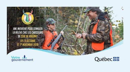 Plus que quelques jours pour s'inscrire: Un weekend de chasse au chevreuil destiné à la relève !