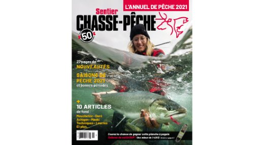 Annuel de Pêche 2021 maintenant disponible