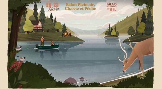 Salon Plein air, chasse et pêche