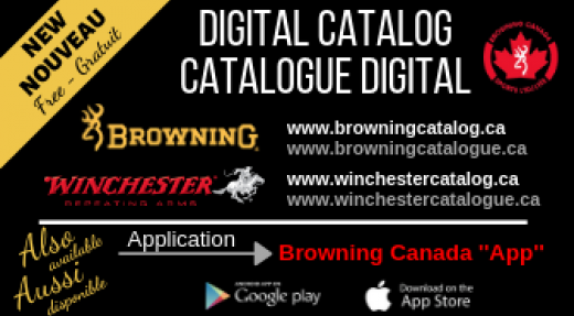 Nouvelle application Browning/Winchester