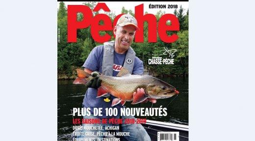 Procurez-vous l'Annuel de pêche 2018