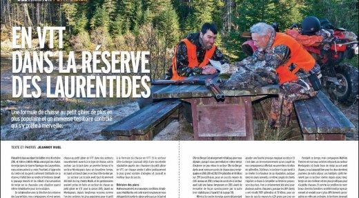 Petit gibier: En VTT dans la réserve faunique des Laurentides