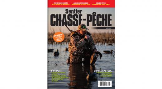 Magazine Sentier CHASSE-PÊCHE d'août