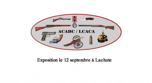 Exposition d'armes à Lachute
