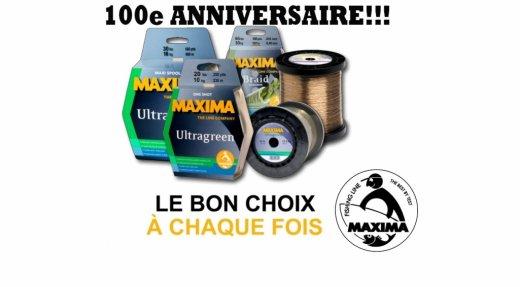 100e anniversaire pour Maxima