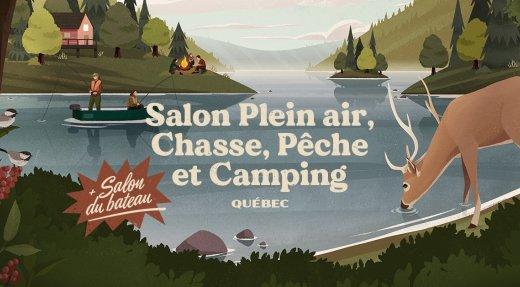 Salon Plein air, Chasse, Pêche et Camping de Québec