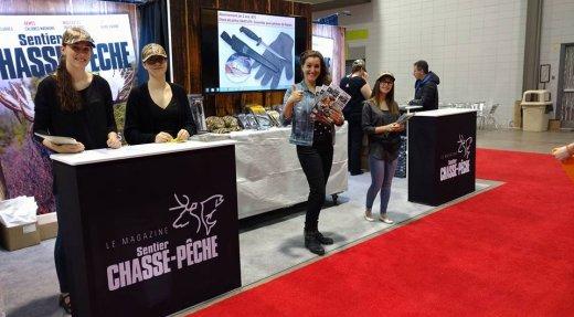 Venez nous rencontrer au Salon de la pourvoirie de Québec