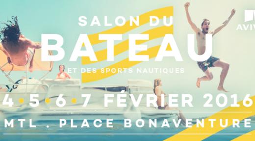 Ne manquez pas le Salon du bateau de Montréal