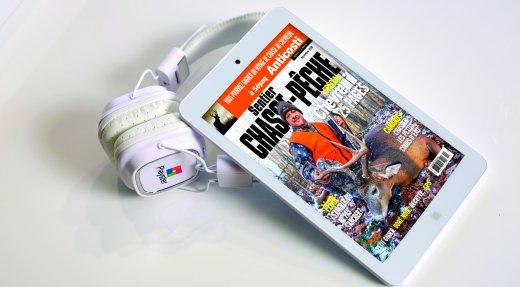 Offre d'abonnement: Sentier CHASSE-PÊCHE vous offre une tablette électronique GRATUITEMENT