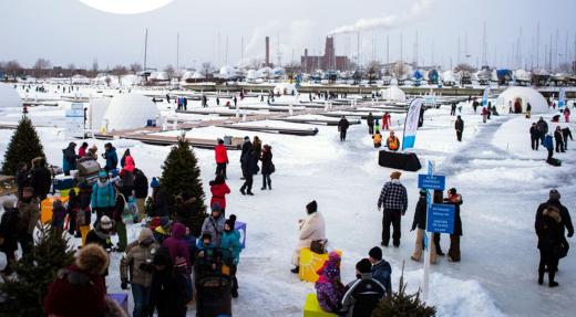 La 2e saison débute aujourd'hui au Village Nordik du Port de Québec! Québec,